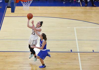 Woodstock and Marengo face off in IHSA 3A Girls Regional Girls Basketball Tournament