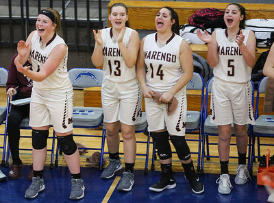 Woodstock and Marengo face off in IHSA 3A Girls Regional Girls Basketball Tournament