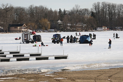 Candace H. Johnson-For Shaw Media The 59th Annual Chain O' Lakes Ice Fishing Derby and Winter Festival at Turtle Beach on Channel Lake in Antioch. The event was sponsored by the Northern Illinois Conservation Club. (2/9/19)