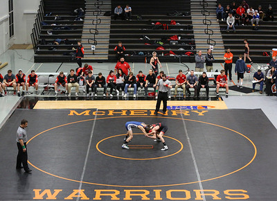 Prospect takes on Huntley in IHSA Class 3A Huntley Dual Team Sectional
