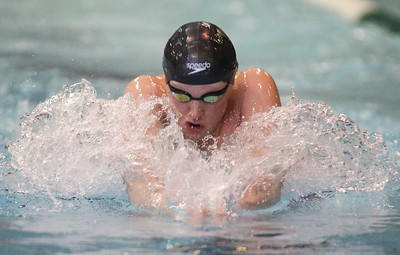 IHSA Boys Swimming Semi-Finals