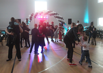 Candace H. Johnson-For Shaw Media The Sock Hop Mother & Son dance at the Lakefront Park Building in Fox Lake. (2/1/20)