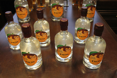 Candace H. Johnson-For Shaw Media Cocoa Curacao, a seasonal orange liqueur, is made at North Shore Distillery and sold in their gift store in Green Oaks. (2/8/20)