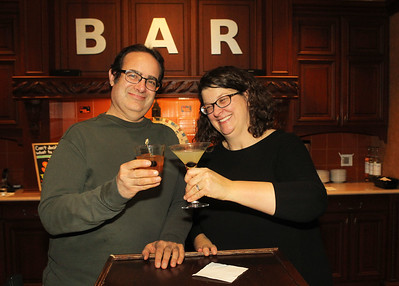 Candace H. Johnson-For Shaw Media Derek and Sonja Kassebaum, co-owners, in the Tasting Room at North Shore Distillery in Green Oaks. (2/8/20)