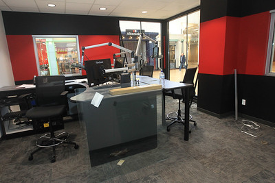Candace H. Johnson-For Shaw Media The WXLC radio station, one of four Alpha Media radio stations, under construction at the north end of Gurnee Mills. The other radio stations include: WIIL, WLIP and WKRS. (2/19/20)