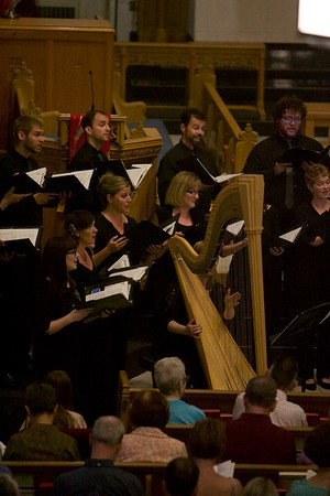 The St. Charles Singers perform on June 3 at Baker Memorial United Methodist Church in St. Charles.