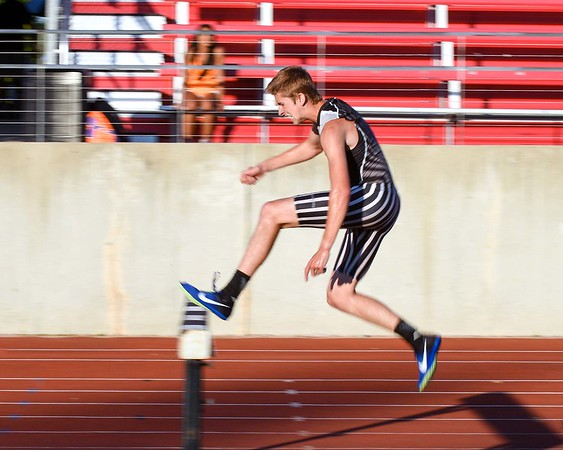Sam Webster of Kaneland competes in the 2000 meter steeplechase June 10, during the Midwest Distance Classic at Benedicitine University in Lisle.<br /> David Toney for Shaw Media