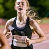 Freshman Rachel Ritchman of Kaneland runs the 1600 meter June 10, during the Midwest Distance Classic at Benedicitine University in Lisle.<br /> David Toney for Shaw Media
