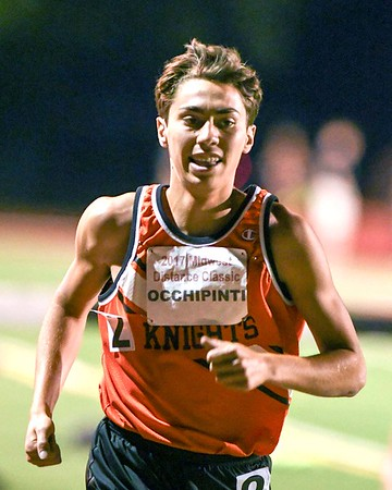 Dan Occhipinti of Kaneland runs the runs the 1600 meter June 10, during the Midwest Distance Classic at Benedicitine University in Lisle.<br /> David Toney for Shaw Media