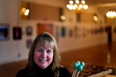 Lauren M. Anderson - landerson@shawmedia.com Terry Legare, Executive Director of Lakeside Legacy Foundation is a member of the Kiltie Drum and Bugle Corps in Racine, Wis. Legare pictured in front of a marimba also plays xylophone and other standing percussion instruments.