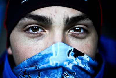 Lance Booth - lbooth@shawmedia.com Sebastien Dandurand, Calgary, Canada poses for a portrait at the 107th annual Norge Ski Jump Championship on Sunday, January 29, 2012.