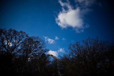 Lance Booth - lbooth@shawmedia.com The ski jump is seen from between tries in Fox River Grove during the 107th annual Norge Ski Jump Championship on Sunday, January 29, 2012.