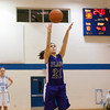 Plano's Albana Hoti  hits a free-throw with 24 seconds left in the 4th quarter to pull help seal the game against Rosary at Rosary in Aurora, IL on Friday, January 04, 2013 (Sean King for The Kane County Chronicle)