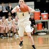 Kaneland's Caroline Heimerdinger passes the ball during their 26-39 loss to Yorkville Friday night.