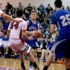 Geneva's Kyle Brown goes up for a shot during their game at Batavia Friday night.
