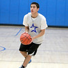 St. Charles North senior Tony Neari shoots the ball during practice at the school Wednesday afternoon.