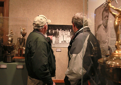 Fred Lorenzen on exhibit at Elmhurst Historical Museum