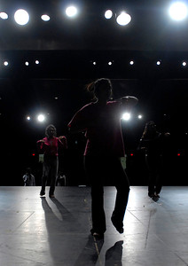 """Members of the Glenbard North Indian Student Association (ISA)  practice a dance number during a rehearsal on Thursday, Jan. 24, 2013. The ISA will hold """"India Night 2013"""" at the high school on Feb. 1 and 2. Matthew Piechalak— mpiechalak@shawmedia.com."""