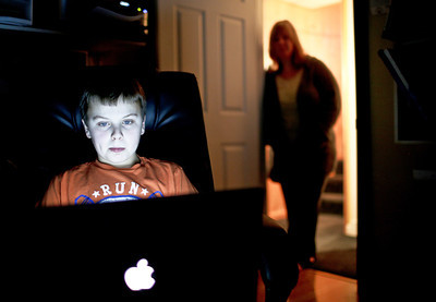 Photo illustration by Josh Peckler - Jpeckler@shawmedia.com  A new study by Internet security company McAfee has many parents on high alert. It shows 70 percent of teenagers hide what they're doing online and highlights the top 10 ways they are doing it.  © Northwest Herald