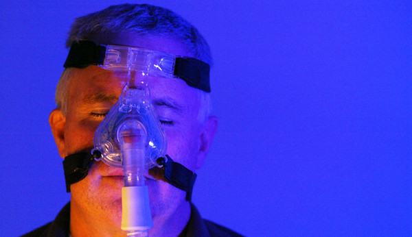 Photo Illustration by H. Rick Bamman - hbamman@shawmedia.com Continuous positive airway pressure therapy (CPAP) uses a machine to help a person who has obstructive sleep apnea breathe more easily during sleep.  © Northwest Herald