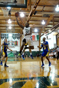 Glenbard West senior guard Jeff Levesque goes up for a lay-up during a game against Lyons Township on Thursday, Jan. 24, 2013. Matthew Piechalak— mpiechalak@shawmedia.com.