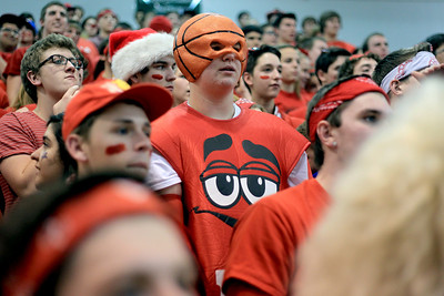 Sarah Nader - snader@shawmedia.com Dundee-Crown fans watch Tuesday's boys basketball game against Jacobs on January 15, 2013.