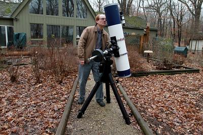 Mark Christensen of Fox Valley Astronomical Society