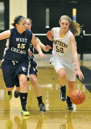 West Chicago at Glenbard North girls basketball