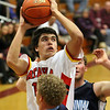 Batavia's Micah Coffee takes a shot during Saturday's game against Centennial, NV at the 38th annual Elgin Holiday Basketball Tournament.<br /> Elgin 12/29/12(Jeff Krage photo for the Kane County Chronicle)