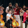The Fiddlin' Fools perform during Friday's Patriots Day events at Geneva Middle School North. (Jeff Krage photo for the Kane County Chronicle)