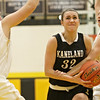 Kaneland's Emma Bradford (32) drives to the basket before a shot good for two points during the second quarter in Sycamore, Ill., Friday, Jan. 18, 2013. Sycamore defeated Kaneland in overtime, 49-48. (Rob Winner photo)