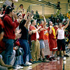 Batavia fans go wild at the end of the first half of their home game against Geneva Friday night. (Sandy Bressner photo)