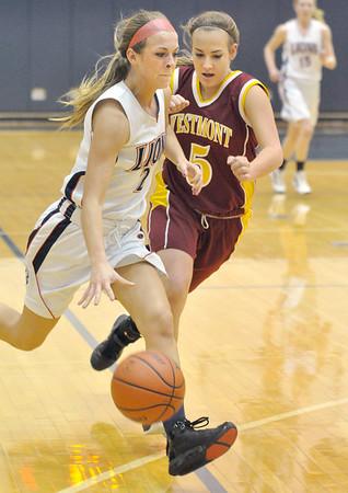 Westmont at Lisle girls basketball
