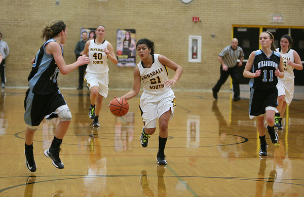 Willowbrook vs. Hinsdale South, girls hoops