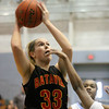 Jeff Krage – For Shaw Media<br /> Batavia's Erin Bayram attempts a shot during Monday's game against Joliet Catholic in the 24th annual McDonald's Shootout at Willowbrook High School.<br /> Villa Park 1/20/14