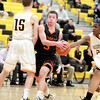 St. Charles East's Cole Gentry goes up for a lay up during their game at Metea Valley Thursday.