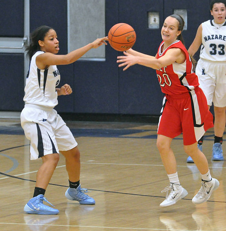 Benet at Nazareth girls basketball