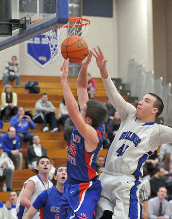 Glenbard South at Riverside Brookfield boys basketball