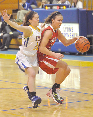 Hinsdale Central at Lyons Township girls basketball