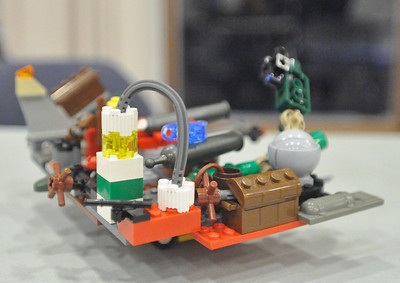 LEGO night at Westmont Library