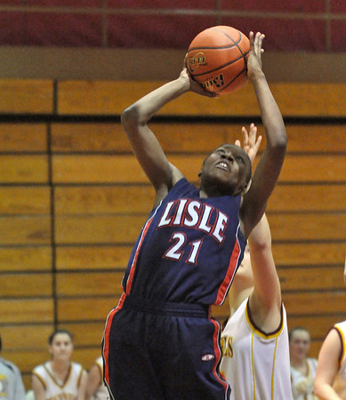 Lisle at Westmont girls basketball