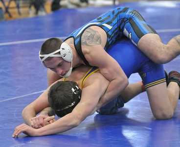 RB hosts triangular wrestling