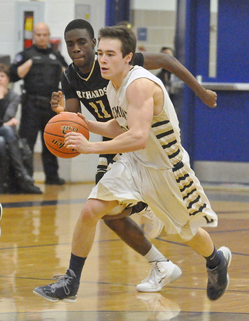 Richards at Lemont boys basketball