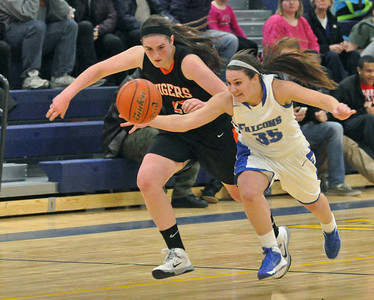 Wheaton Warrenville South at Wheaton North girls basketball