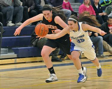 Wheaton Warrenville South at Wheaton North girls basketball