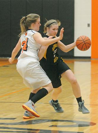 Glenbard North at Wheaton Warrenville South girls basketball