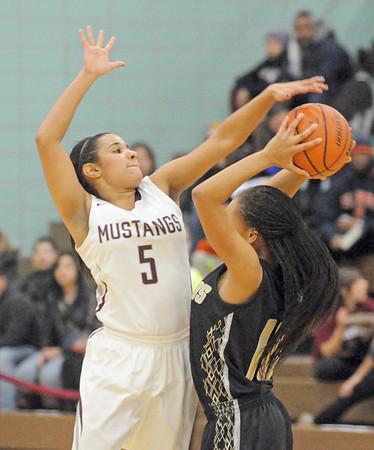 Richards at Morton girls basketball
