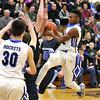 Burlington Central boys basketball vs Newark 2