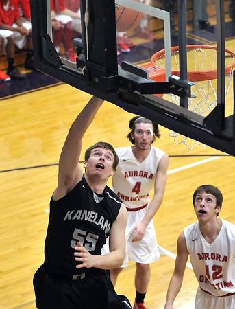 Kaneland boys basketball vs Aurora Christian 2