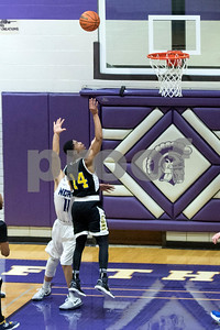 Lyons Township's Lazarius Williams shoots during thesecond period of the game at Downers Grove North on Friday, January 27th. Lorae Mundt for Shaw Media